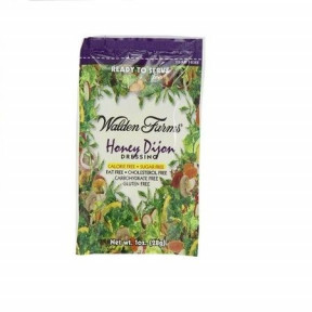 Walden Farms Honey Dijon Dressing saqueta de 28 g