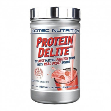 Raspberry Yogurt Protein Delite Protein Shake with raspberry pieces Scitec Nutrition