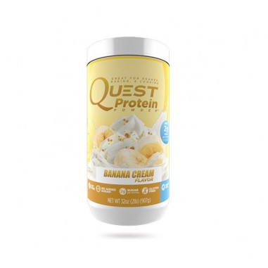 Quest Protein Powder Banana Cream 907g