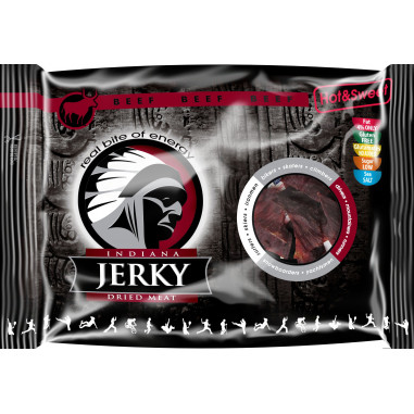 Indiana Jerky Hot & Sweet Beef Jerky 100 g