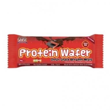 Protein Wafer Chocolat et Fraise - Protein Snax