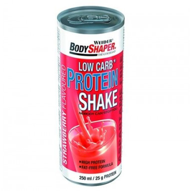 Low Carb Protein Shake Flavour Strawberry 250 ml