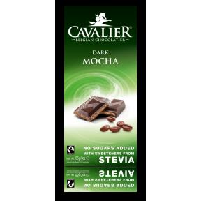 Chocolate preto com recheio de mocha 85 g Cavalier