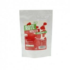 Bonbons low-carb coeurs rouges 250 g LCW