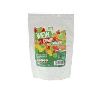 Bonbons low-carb mix géométrique goût fruits 250 g LCW