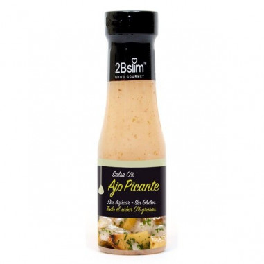 2bSlim 0% Molho de Alho Picante 250 ml