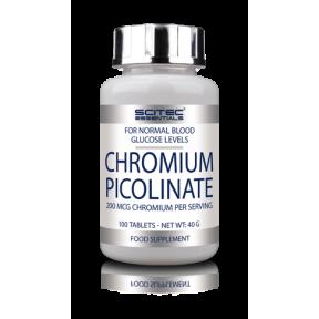 Picolinato de Crómio de Scitec Nutrition 100 tabs