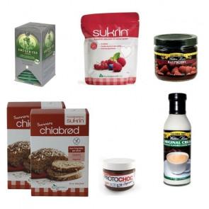 Pack tradicionais de pequeno-almoço sem carboidratos 6 productos