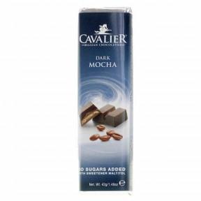 Barra de chocolate preto Cavalier com Mocha 40 g