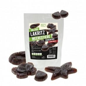 LCW Low-Carb Alcaçuz salgado 250 g (sabor forte)
