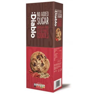 :Diablo sugar free Chocolate chip & goji berries cookies 130g