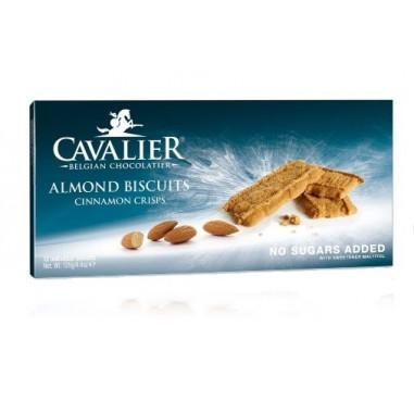 Galletas de Almendra con Canela sin azúcar (Espéculos) Cavalier 125 g