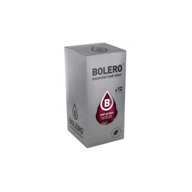Pack de 12 Sobres Bolero Drinks Sabor Uva Roja