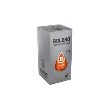 Pack de 12 Sobres Bolero Drinks Sabor Naranja