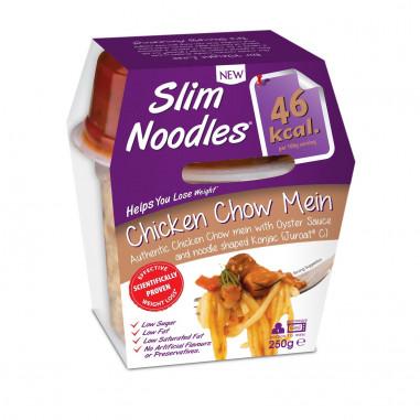 Slim Pasta Noodles avec Poulet Chow Mein 250 g