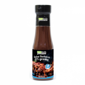 Salsa Barbacoa 0% grasas Smart Foods 350 ml