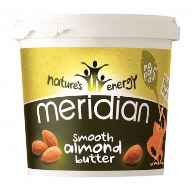 Manteiga de amêndoa amolecida Meridian 170 g