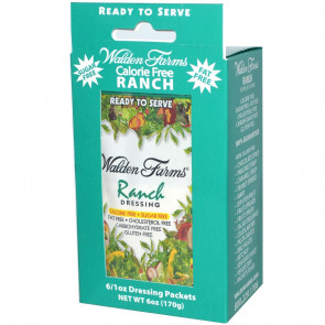 Walden Farms Ranch Dressing 6 packets of 28 g