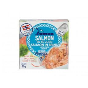 Dumon Norwegian Salmon in its Juice 90 g