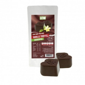 Bombons de chocolate com Trufa de baunilha de 90 g LCW
