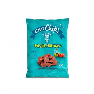 CruChips Dehydrated Beef Chips Mediterranean 40g