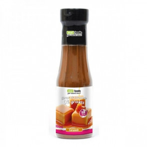 Sirope de Caramelo 0% grasas Smart Foods 350 ml