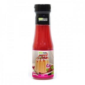 Sirope de Fresa 0% grasas Smart Foods 350 ml