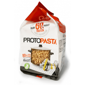 Pasta CiaoCarb Protopasta Phase 1 Tubetti 300 g 6 sacs individuels 50 g