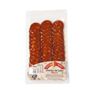 Chorizo de Leon Doux en tranches 100g Cecinas Pablo