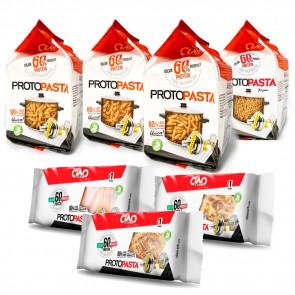 Pack Varié de Pâtes Phase 1 CiaoCarb 7 unités