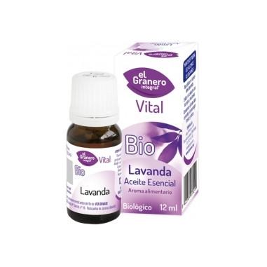 Óleo Essencial de Lavanda, 12 ml.