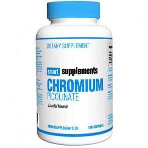 Picolinato de Cromio Smart Supplements 100 cápsulas