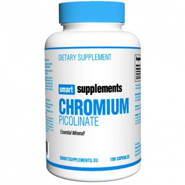 Picolinate de chrome Smart Supplements 100 cápsulas