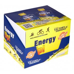 Caja 24 x 40g Energy Up! Gel 40g Victory Endurance Limón