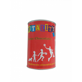 Vitality Kids Proteina de Caseinato Cálcico sabor chocolate 500 g