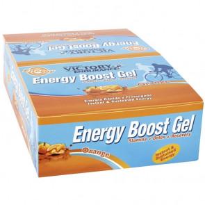Boîte 24 x 42g Energy Boost Gel Orange Victory Endurance