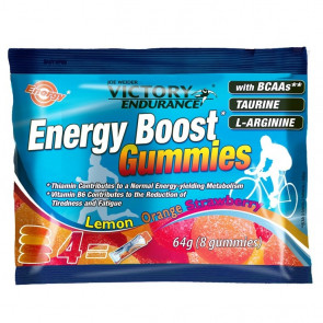 Energy Boost Bonbons 64g Victory Endurance Orange Citron Fraise
