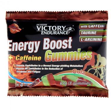 Energy Boost + Cafeina Gummies 64g Victory Endurance Cola
