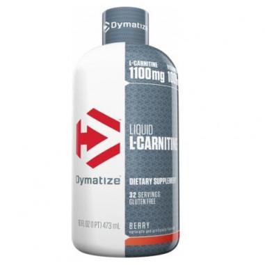L-Carnitine 1100 Líquida Dymatize Sabor Bayas, 473 ml