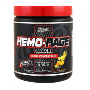 Nutrex Research Hemo-Rage Black Ultra Concentrate 285 g Peach-Pineapple