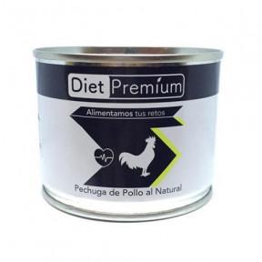 Pechuga de Pollo al Natural en Conserva 100 g Diet Premium