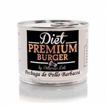 Pechuga de Pollo Barbacoa en Conserva 100 g Diet Premium