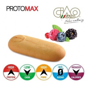 Pack de 10 Biscuits CiaoCarb Protomax Phase 1 Fruits des Bois