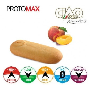 Pack of 10 CiaoCarb Peach Protomax Stage 1 Cookies