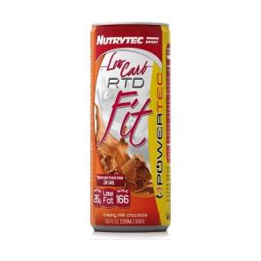 Shake Low Carb RTD Fit Powertec Goût Biscuits à la Crème Nutrytec 250 ml