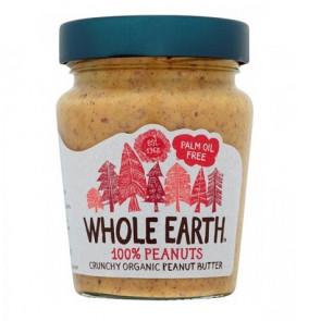Manteiga de Amendoim Crocante Orgânica Whole Earth 227 g