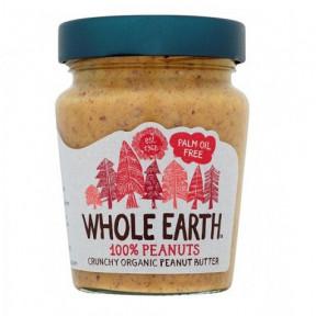 Beurre de Cacahuete Croustillant Bio Whole Earth 227 g