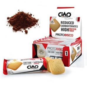 Pack de 10 Biscuits CiaoCarb Protobisco Phase 1 Cacao