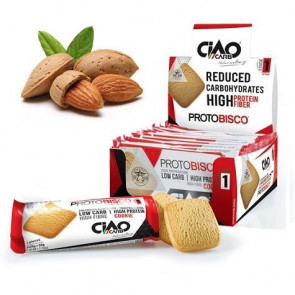 Pack de 10 Galletas CiaoCarb Protobisco Fase 1 Almendras