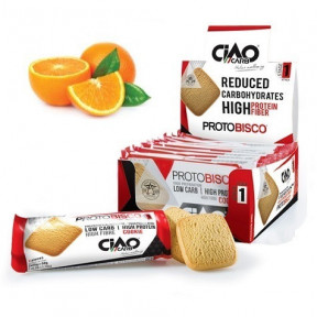 Pack of 10 CiaoCarb Orange Protobisco Stage 1 Cookies